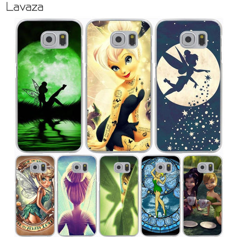 Lavaza Tinkerbell Case for Samsung Galaxy S9 S8 S7 S6 S5 Edge Plus-moslily