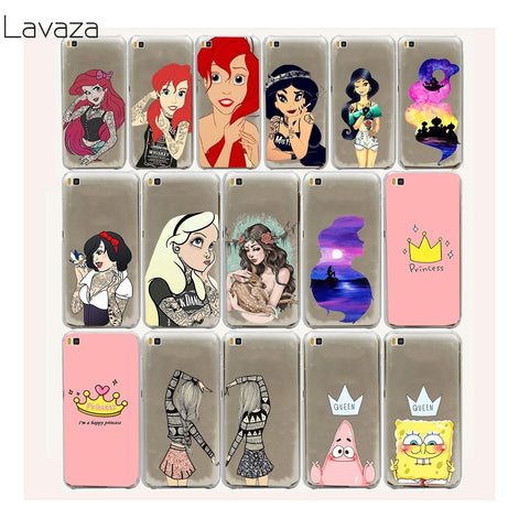 Lavaza 33FF Tatton Princess Girls Hard Case for Huawei P20 Lite P Smart P9 P8 P10 Lite mini 2015 2016 2017-moslily