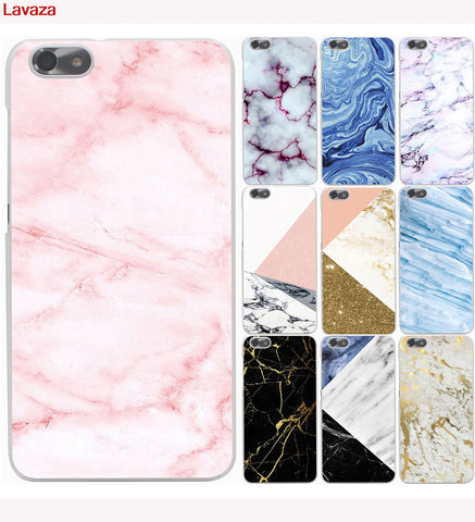 Lavaza New Marble Pattern Printing Hard Phone Case for Huawei P10 P8 P9 Lite ( 2015 2016 2017 ) Plus Honor 9 Lite-moslily