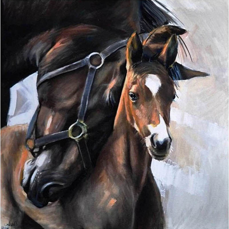 Mare and Foal Love