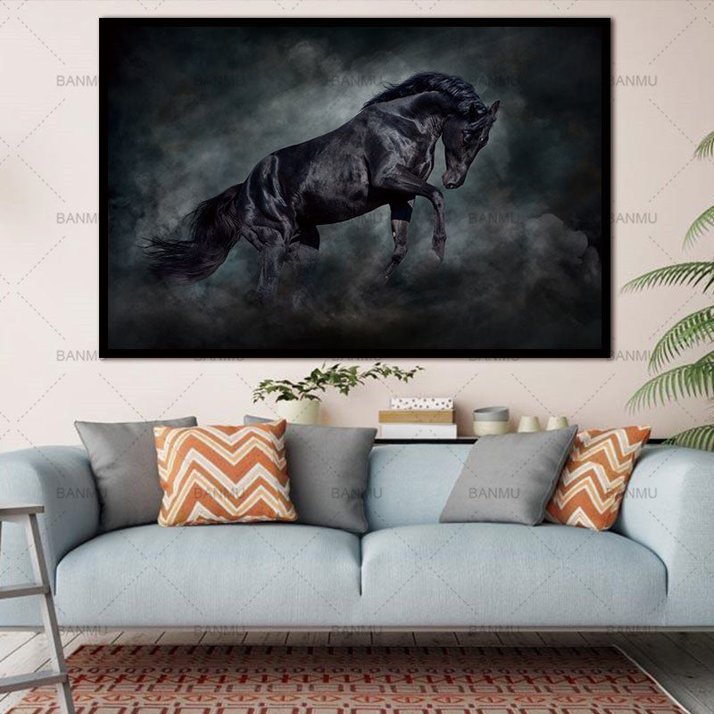 : Beautiful Horse Paintings| Wall Art| Animal Horse Paintings