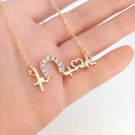 'My Lifeline Depends on Horses' Necklace