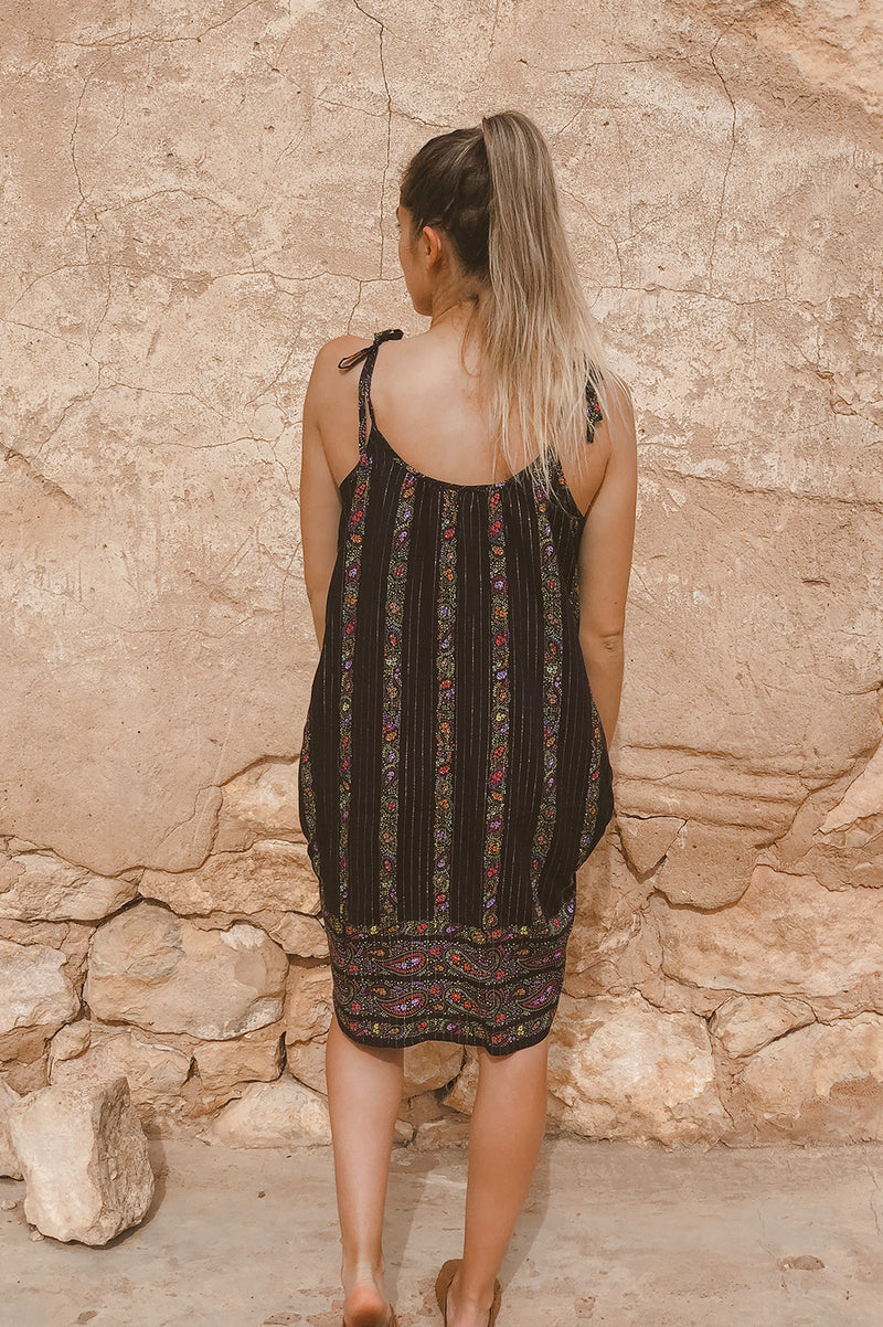 SUMMER DAZE DRESS - PAISLEY BORDER