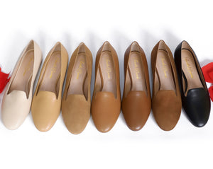 Medium colored loafers. Women's flats. All Colored loafers. Business professional loafers. Office wear. Great for all occasions.