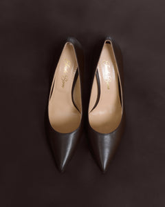 Dark Brown Pumps. Women's Dark Brown High Heels. Nude Pumps. Nude Skin tone women's shoes. Business Shoes. Office Professional High Heels