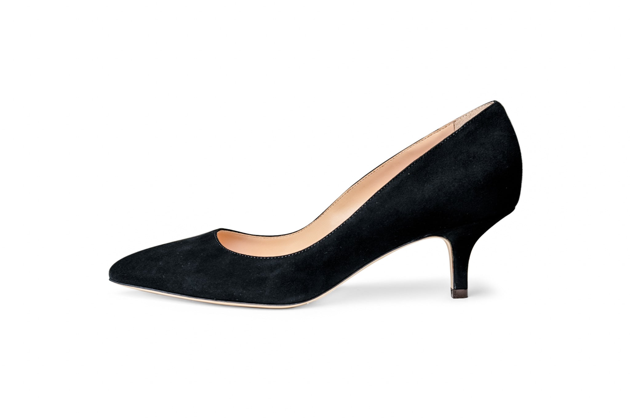 The Black Collection - 50mm Heel in Italian Suede