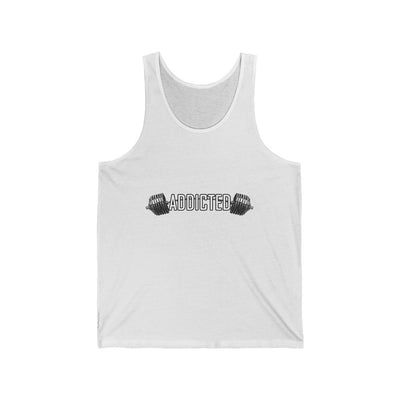 ADDICTED Jersey Tank Barbell