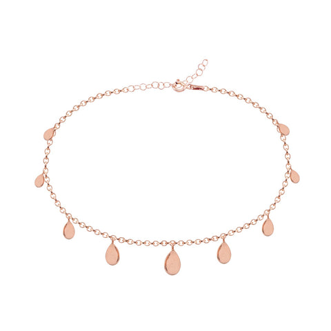 Drops Anklet Rose Gold