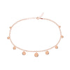 Coin Anklet Rose Gold