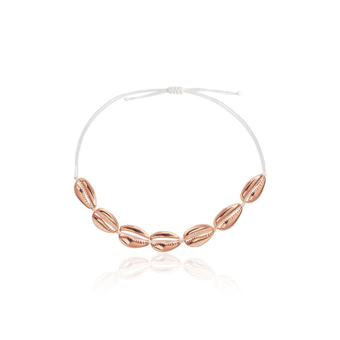 Shell Choker All Rose