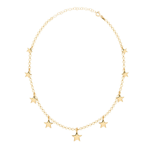 Star Anklet Rose Gold