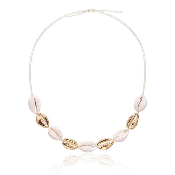 Shell Anklet Rose Gold