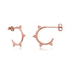 Arya Earrings Rose Gold