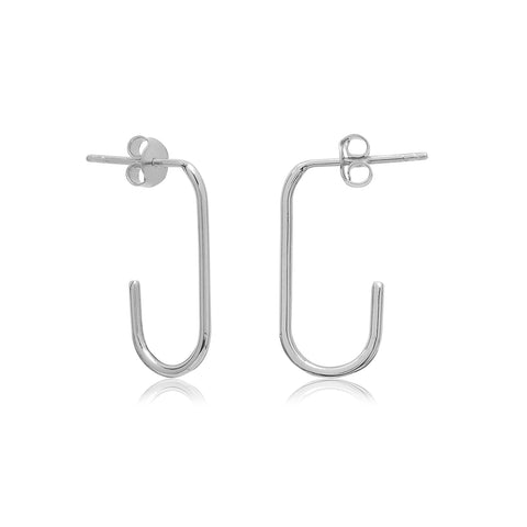 Harvey Earrings Silver