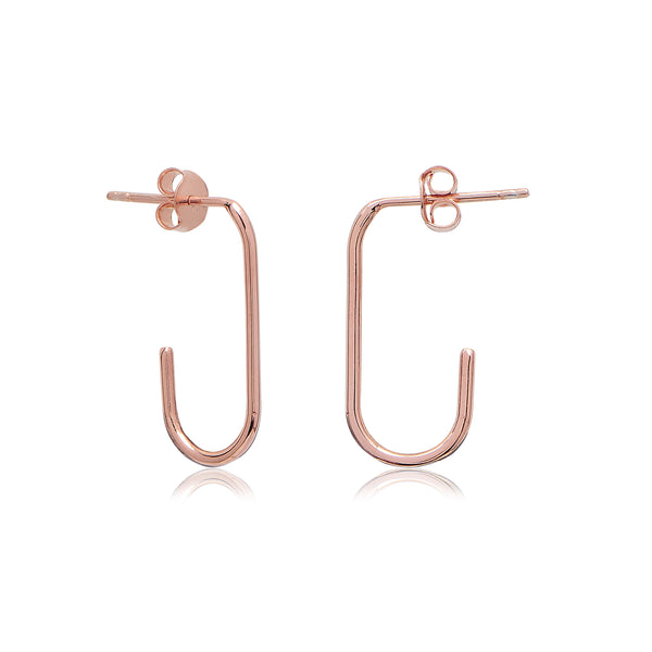 Harvey Earrings Rose Gold