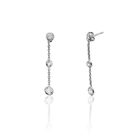 Talya Earrings Silver