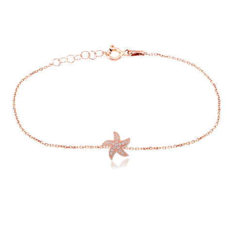 Seastar Bracelet Rose Gold