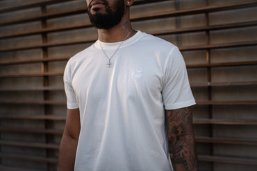 Essential G Tee- Ivory