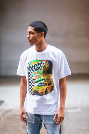 Racing Team Tee- White