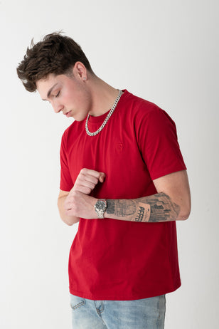 Essential G Tee- Red