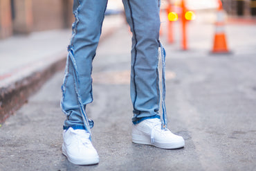 Clear Pocket Denim
