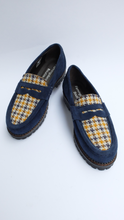 Upload the image to the Gallery viewer, Tartan insert loafers