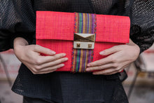 Upload the image to Gallery viewer, Good People's Clutch Antsa Poppy Red