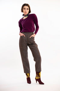 Capri Pure Scottish Wool Trousers
