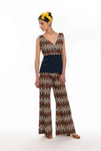 Upload the image to the Gallery Viewer, Ethnic Style Print Cotton Palazzo Pants