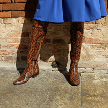 Upload your image to the Gallery Viewer, Over the knee boots