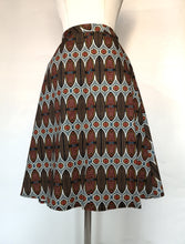 Upload the image to the Gallery viewer, Lightweight Cotton Midi Skirt with Pockets
