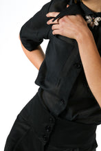 Upload the image to the Gallery viewer, Organza shirt with pockets