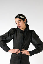 Upload the image to the Gallery viewer, Organza shirt with volume sleeves