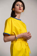 Upload the image to the Gallery Viewer, Yellow Dress with Drawstring
