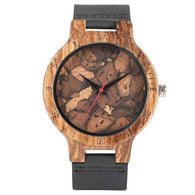 Handmade Creative Wooden Watch-Wooden Gallery