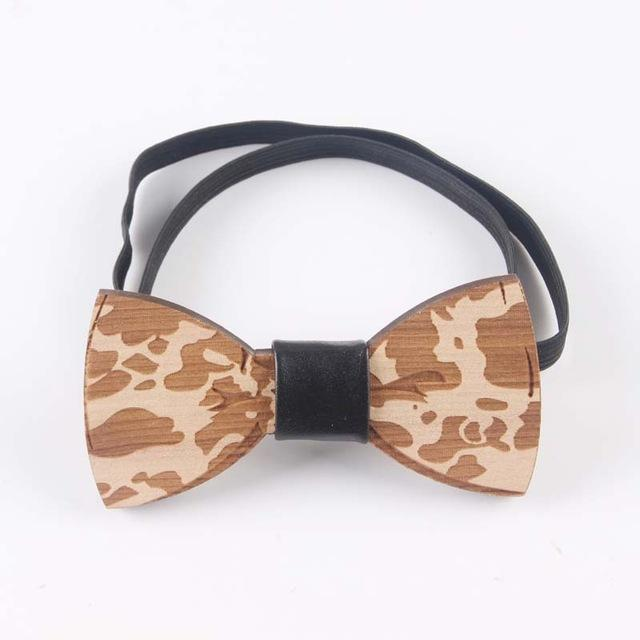 Handmade Elegant Fashion Wooden Bow Tie-Wooden Gallery