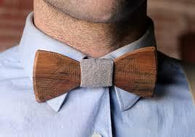 Wooden Business Bow Tie-Wooden Gallery