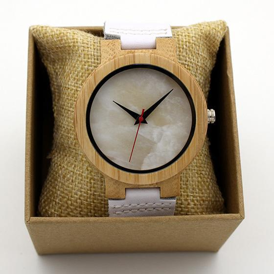 Wooden Fashion Leather Watch-Wooden Gallery