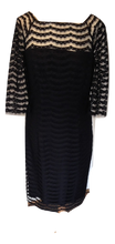 Load image into Gallery viewer, Milly Dress in black Size M /12 VGC