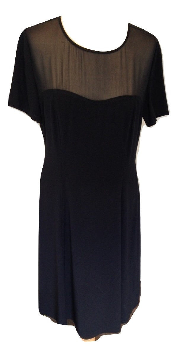 Temperley black evening dress size 12/M