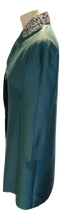 Load image into Gallery viewer, Suzannah Teal evening coat size 12