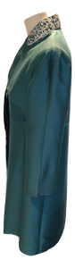 Suzannah Teal evening coat size 12