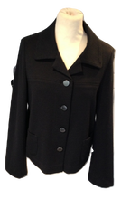 Load image into Gallery viewer, Gerard Darel black jacket size  42 VGC