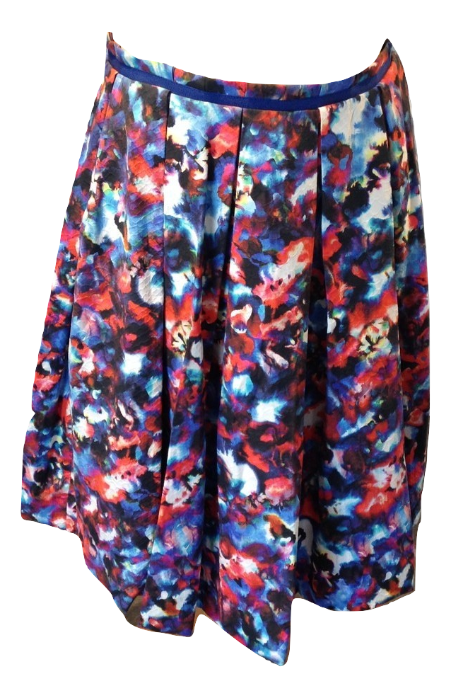 Saloni multi coloured skirt Size 8/10 BNWT