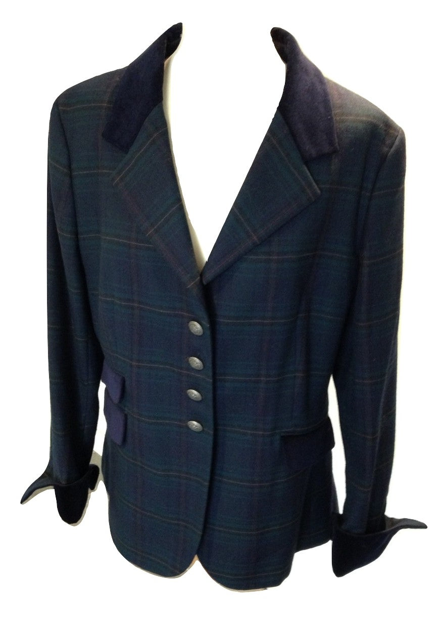 The Houseof Bruar tartan jacket size 16