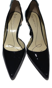 Anne Klein Black patent court shoe US 6/UK 5