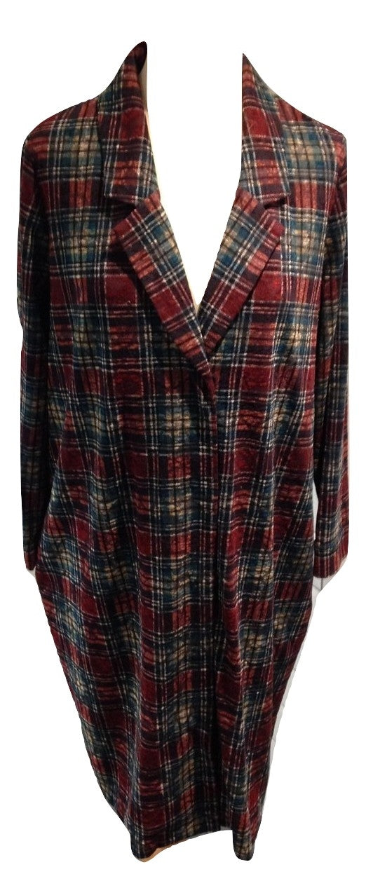 Wall tartan dress Size Small ( please note this is in an oversized style)