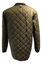 Load image into Gallery viewer, Minimum green wax style jacket & quilted jacket size 40