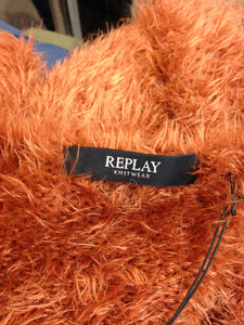 Replay Rust Open Cardigan size small (This garment comes up large and is more like a size 12)