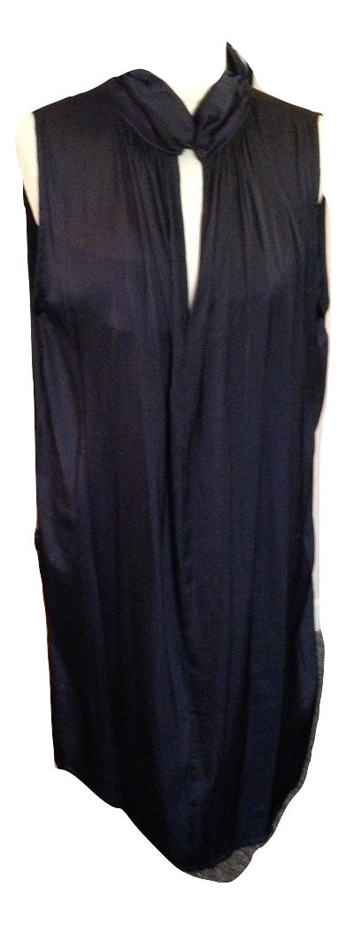 Saint Tropez  Navy shift dress Size Medium in Good Condition